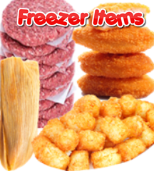 FREEZER ITEMS