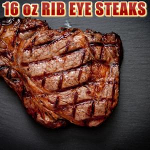 Rib Eye Steak 16 oz.